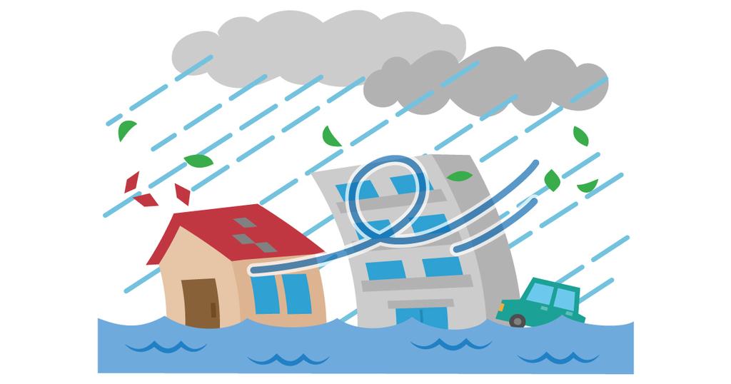 大雨被害の対応 70代女性
